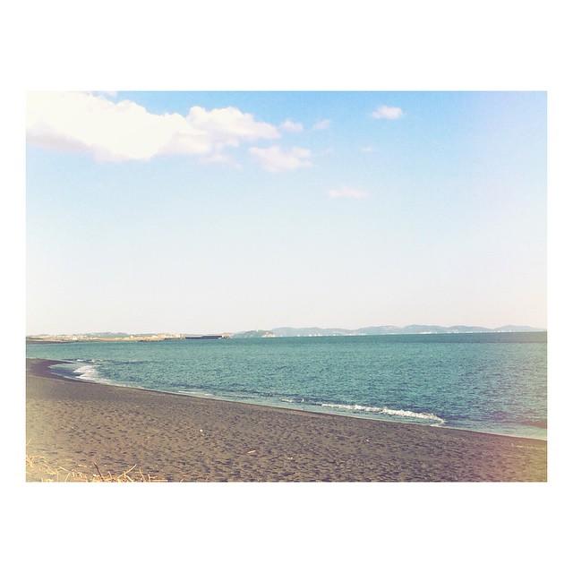 「海岸」がモチーフの絵