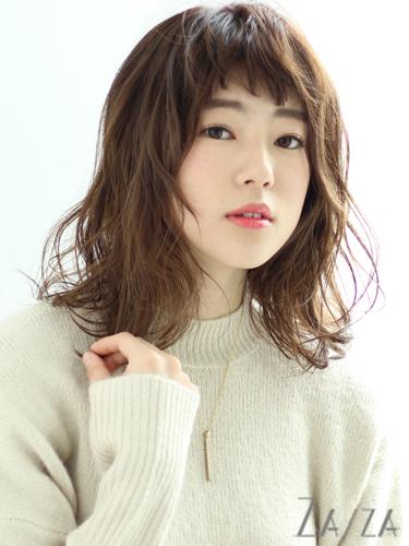 短め前髪×ミディアム20