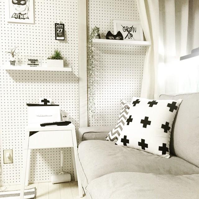壁の簡単DIY9
