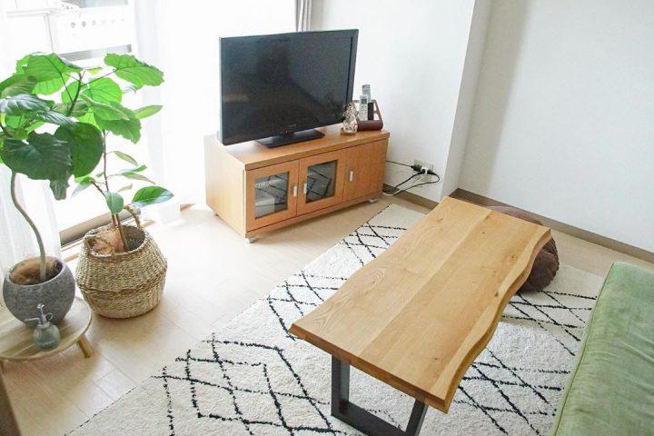 小さなリビングに合わせて選ぶ家具2