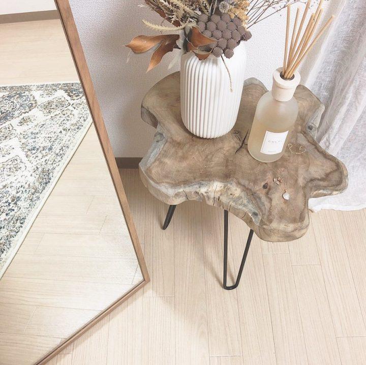 小さなリビングに合わせて選ぶ家具fbb
