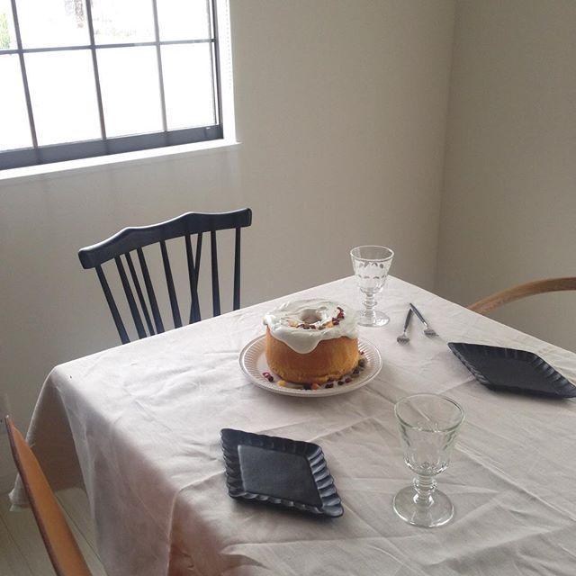 ダイニングテーブルのイメチェン実例10