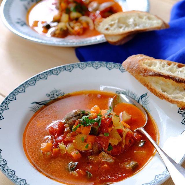 あさりのエキスが絶品。あさりのトマトスープ