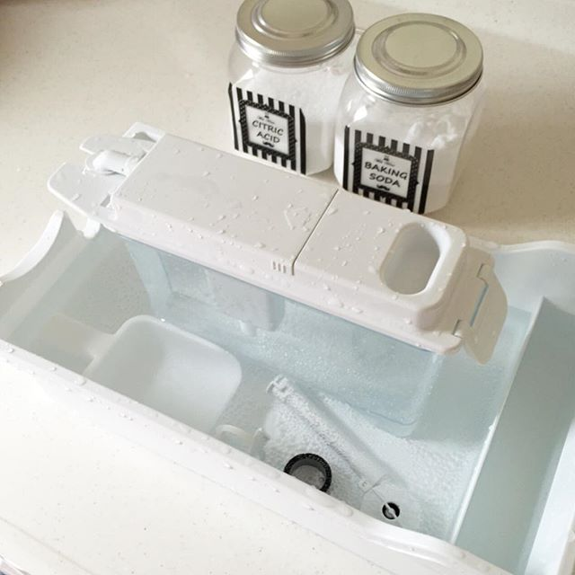製氷機のお手入れにもクエン酸と重曹