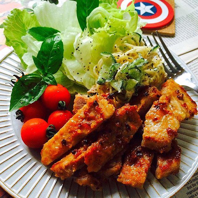風邪予防に良い食べ物のレシピ☆豚肉3