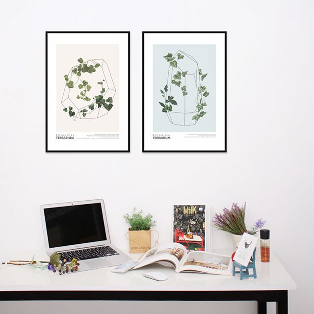 「植物」がモチーフの絵