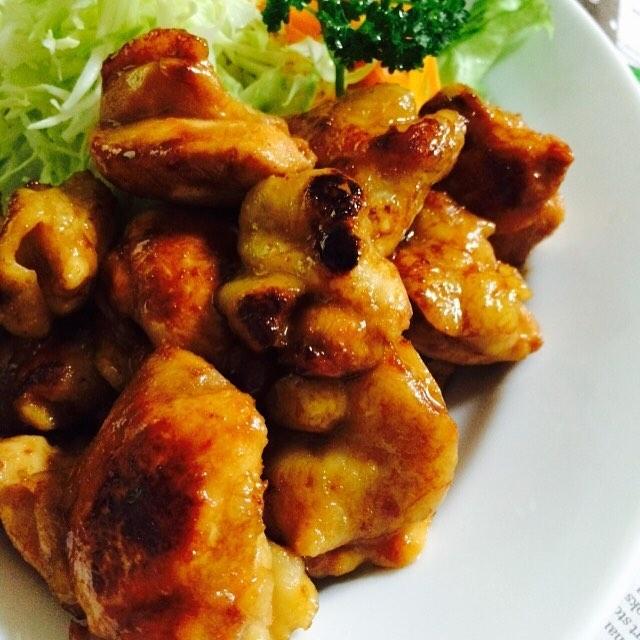 焼くだけ簡単な鶏もも肉レシピ☆おつまみ6