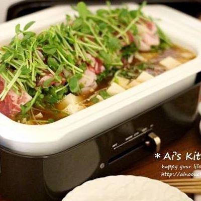 ほんのり辛ウマレシピ。味噌キムチ鍋