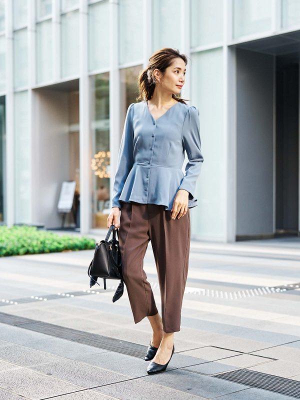 2020秋のお手本レディースファッション【パンツ】2