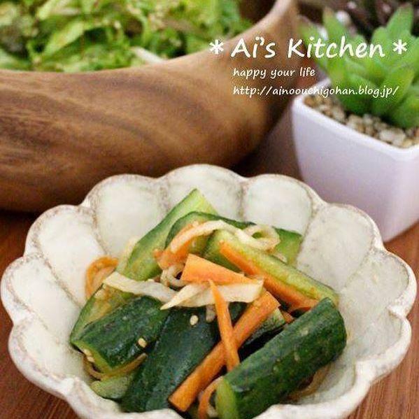 鍋の副菜☆人気レシピ《ピリ辛野菜》