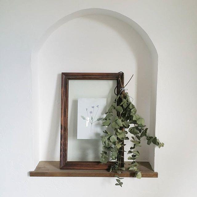 おしゃれ玄関ニッチの飾り方《植物》