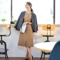 営業職の女性向けお手本コーデ【2020秋】おしゃれと季節も意識した服装を紹介!