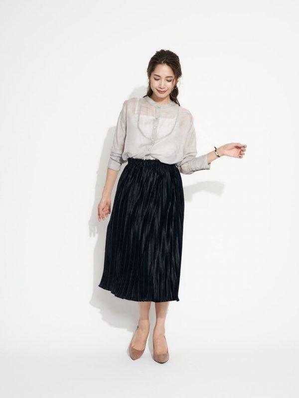 アラサー女性のおしゃれスカートファッション2