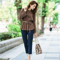 大人女性が素敵に見える♡30代からは洗練された秋ファッションを目指そう!