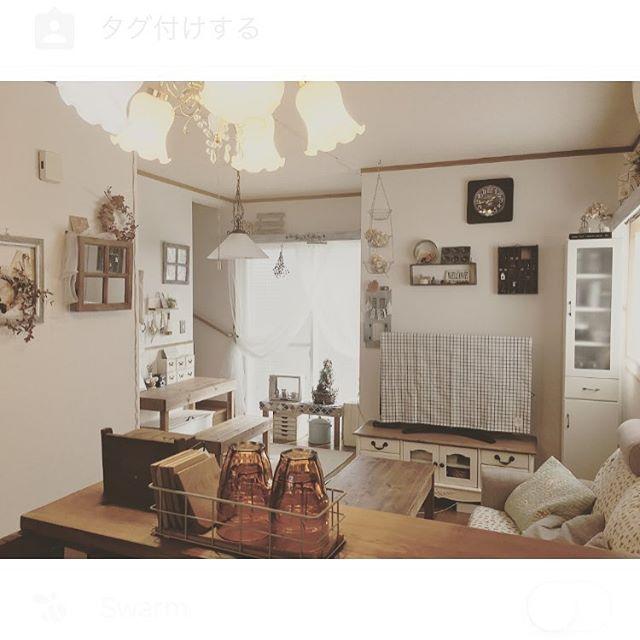8畳のリビングダイニングのレイアウト【空間】10