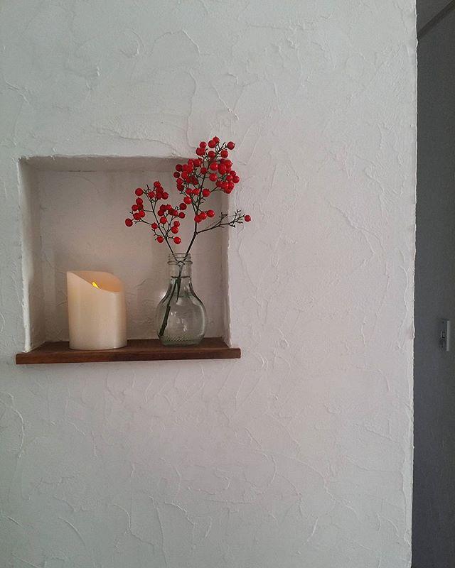 おしゃれ玄関ニッチの飾り方《植物》5