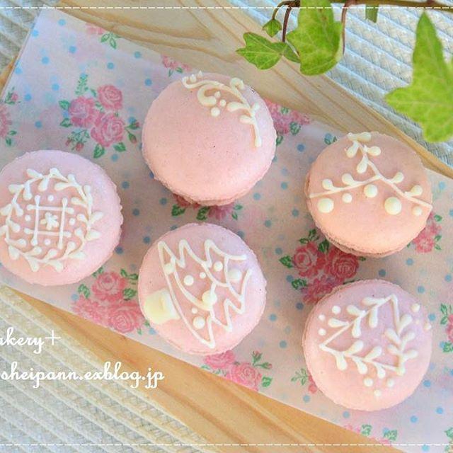可愛いお菓子!手作りマカロン