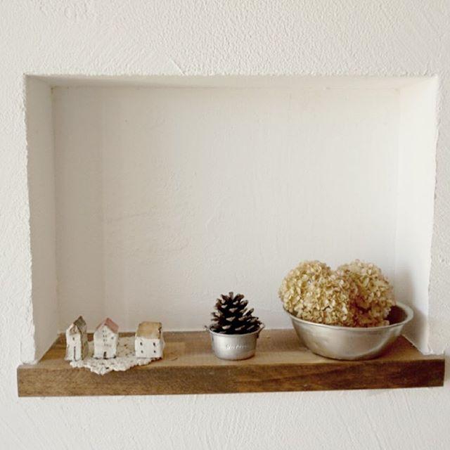 おしゃれ玄関ニッチの飾り方《植物》3