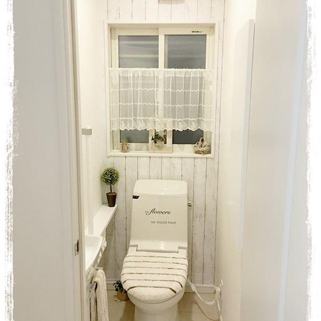 賃貸もOKの壁を使ったトイレDIY2