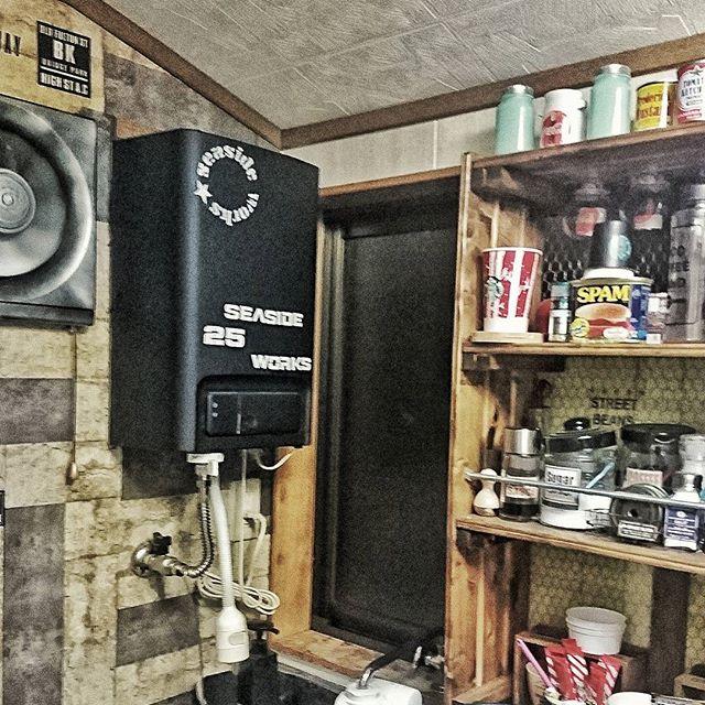 湯沸かし器 キッチンデコレーション