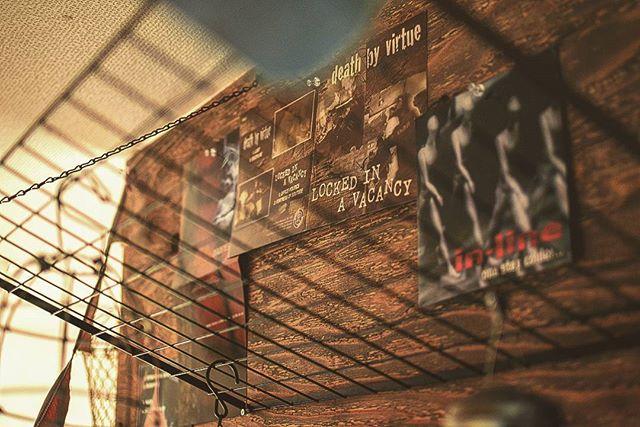 レコードを飾るおしゃれなアイデア【壁】2