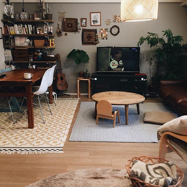 8畳のリビングダイニングのレイアウト【空間】2