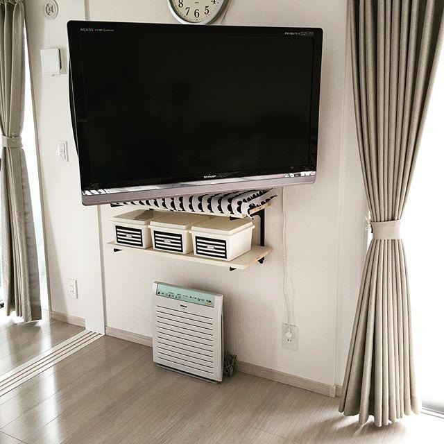 テレビの配置のアイデア11