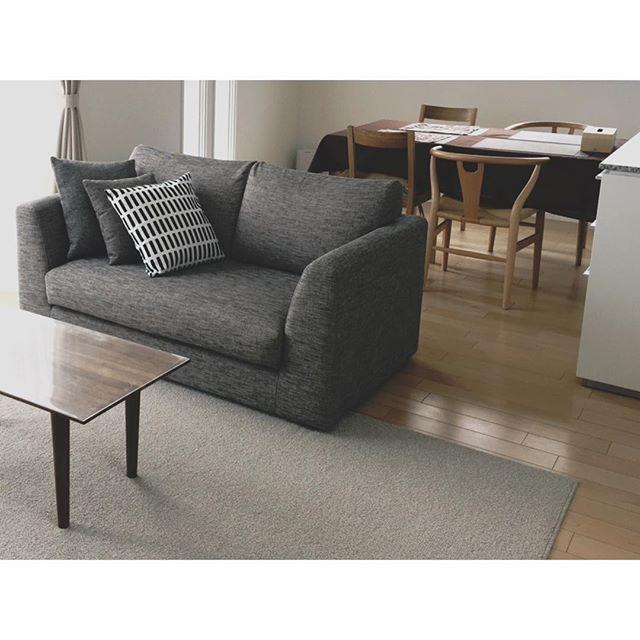 10畳のリビングダイニング合うソファ