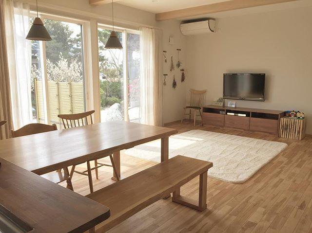 8畳のリビングダイニングのレイアウト【空間】4