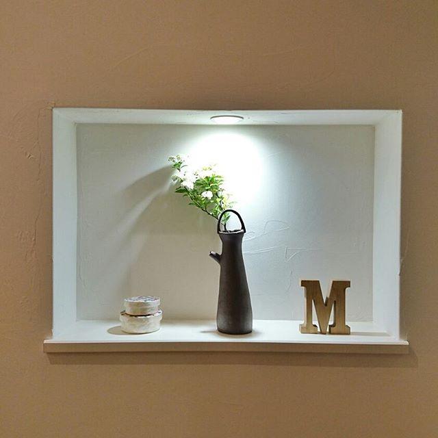 おしゃれ玄関ニッチの飾り方《植物》4