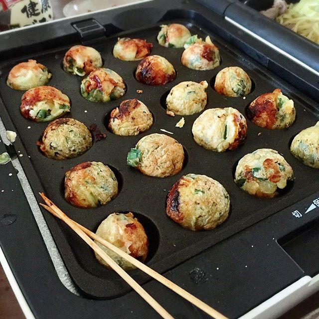 韓国料理♪チーズ入りのチヂミ