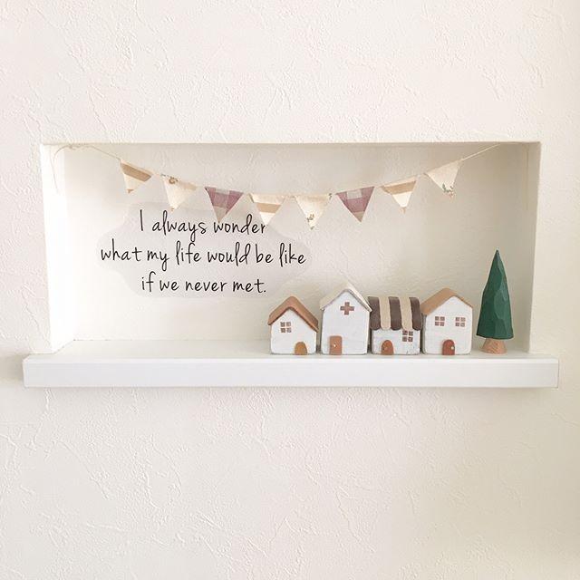 おしゃれ玄関ニッチの飾り方《壁の工夫》
