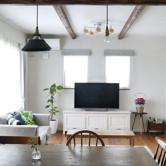 テレビの配置のアイデア7