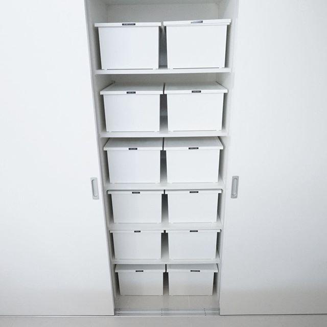 空いている収納庫にすっきり収納するアイデア