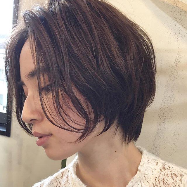 前髪なしのミニボブ2