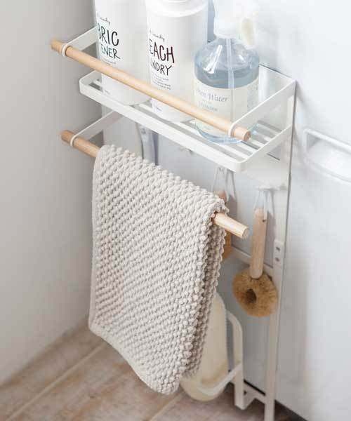 [TIMELESS COMFORT] tosca (トスカ) 洗濯機横マグネット収納ラック