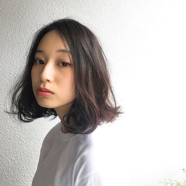 冬に人気のトレンドボブ【前髪なし】4