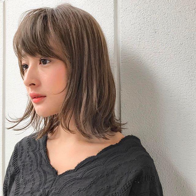 冬に人気のトレンドボブ【前髪あり】3