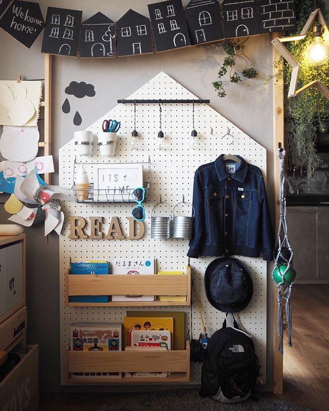 壁の簡単DIY4