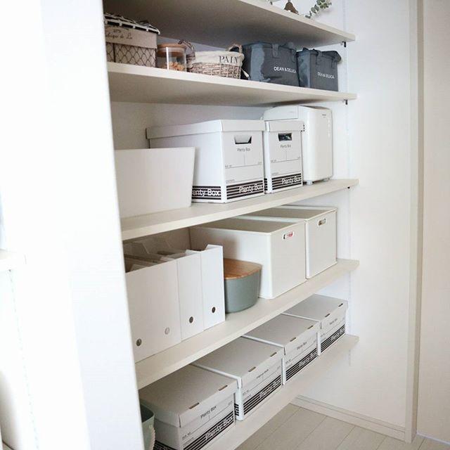 ニトリのファイルボックス収納【キッチン用品】3