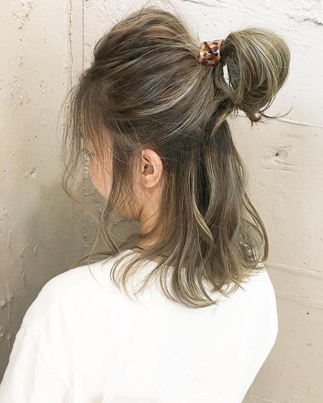 骨格ストレート似合う髪型《ミディアム》4