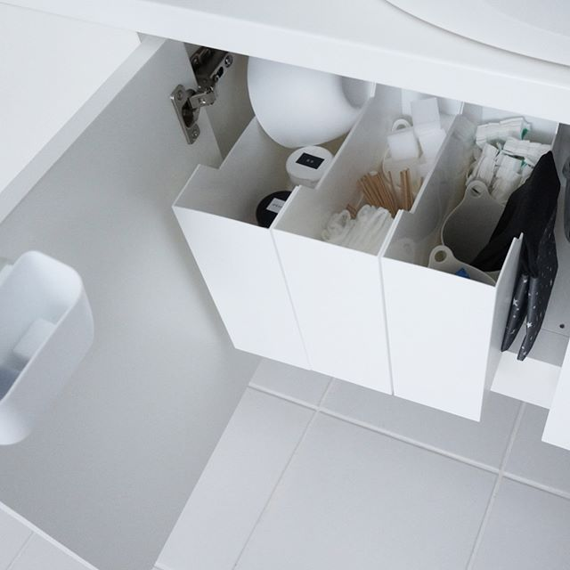 ニトリのファイルボックス収納【掃除用品】2