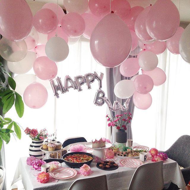 誕生日パーティーに人気の100均風船