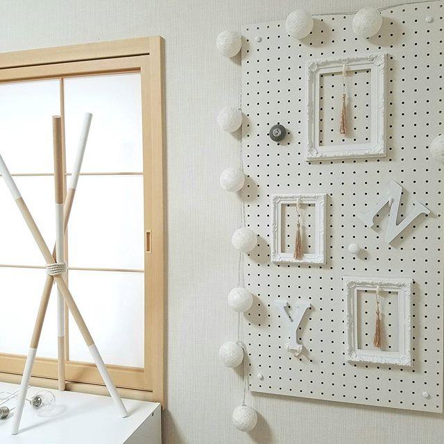 壁の簡単DIY20