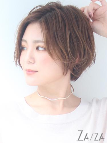 毛量が少ない女性に似合う髪型【ショート】2