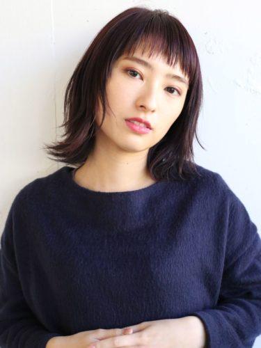 短め前髪×ミディアム18