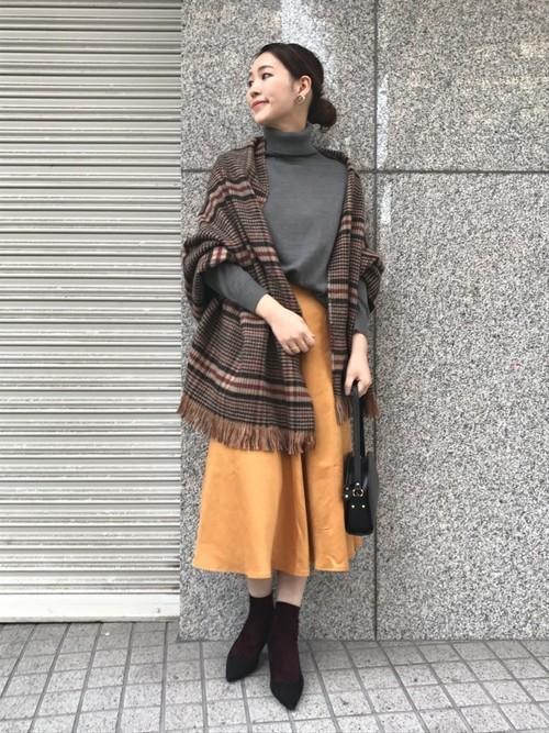 [URBAN RESEARCH ROSSO WOMEN] スウェードフレアスカート