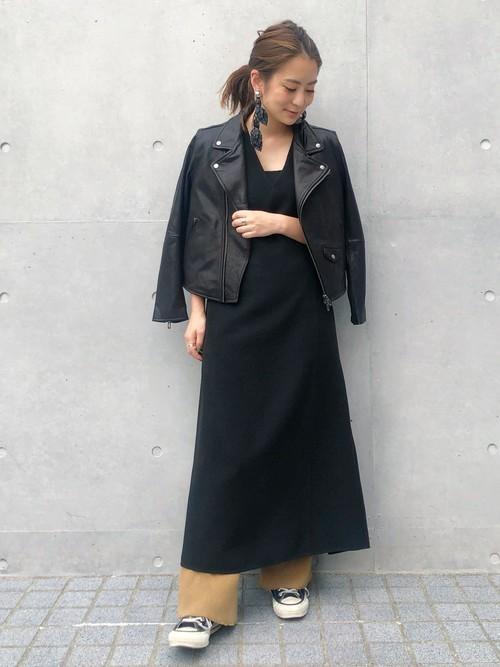 [STUDIOUS WOMENS] 【DOMENICO+SAVIO(ドメニコアンドサビオ)】レザーライダースジャケット DSL19ABZ01/DSL20SBZ01
