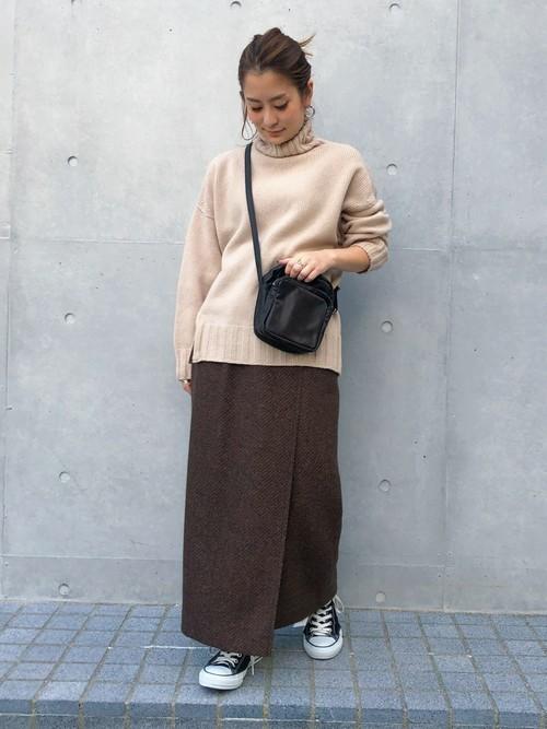 [STUDIOUS WOMENS] 【STUDIOUS】ブライトツイードタイトスカート