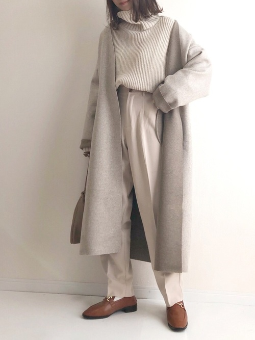 冬の着痩せコーデ2